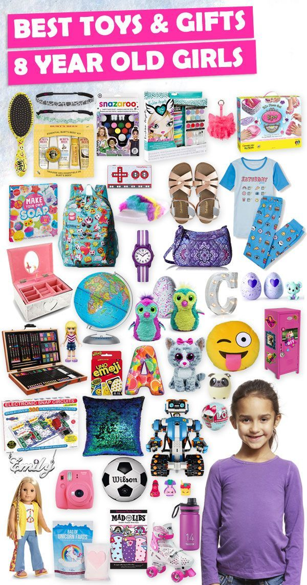 Tons of great gift ideas for 8 year old girls.