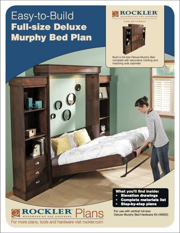 Rockler   I semble   Murphy Bed Kits   Plans   Woodworker's