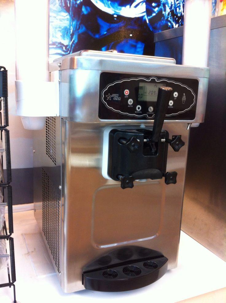 commercial frozen yogurt machine rental