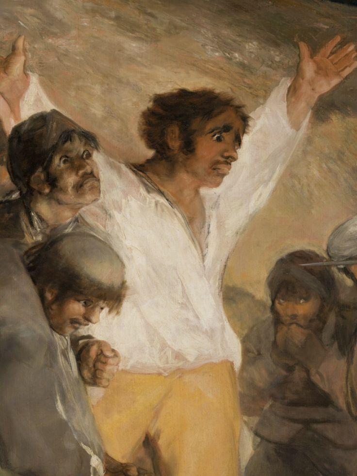 Spain. Los fusilamientos del 3 de Mayo de 1808 (The Shootings of May Third 1808), (detail), 1814; Oil on canvas, Museo del Prado, Madrid // Goya