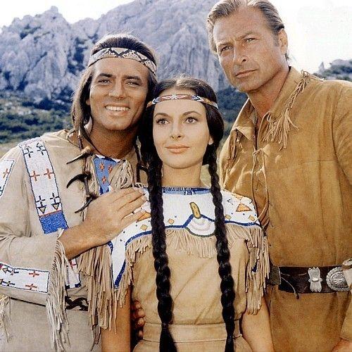 Pierre Brice,    Winnetou, Haeuptling der Apachen, meine erste grosse Liebe
