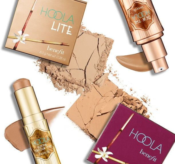 Fake a tan year-round whether it's with hoola matte bronzing powder, liquid bronzer, or hoola lite for fair skin tones.