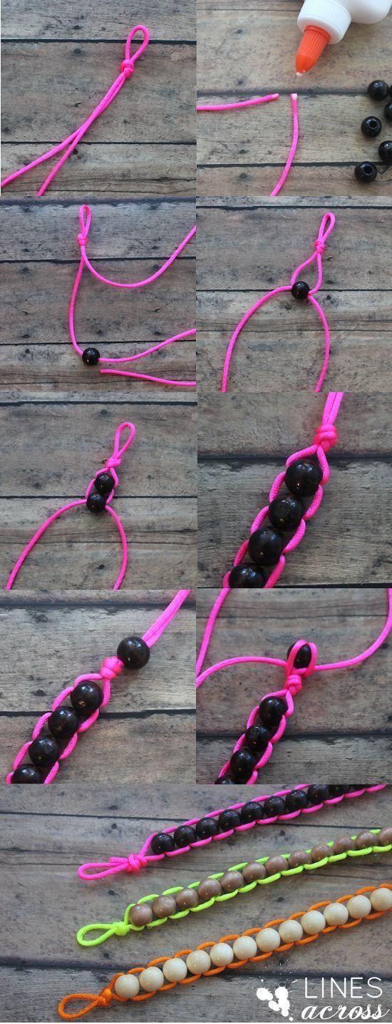 Easy to make bracelet / Makkelijk te maken armbandje