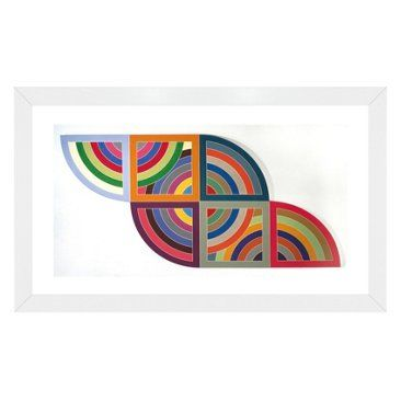 Check out this item at One Kings Lane! Frank Stella, Harran II, 1967