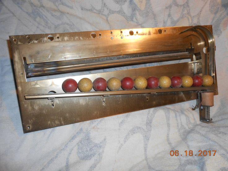 PINBALL parts Gottlieb ball rack unit-Bowling Queen-300-Super Soccer-Top Score