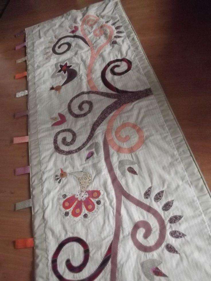 Madaras-indás falvédő, 70 x 200 cm