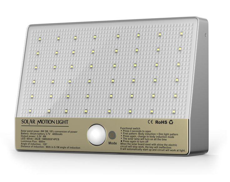 48 LED Wall Solar Light