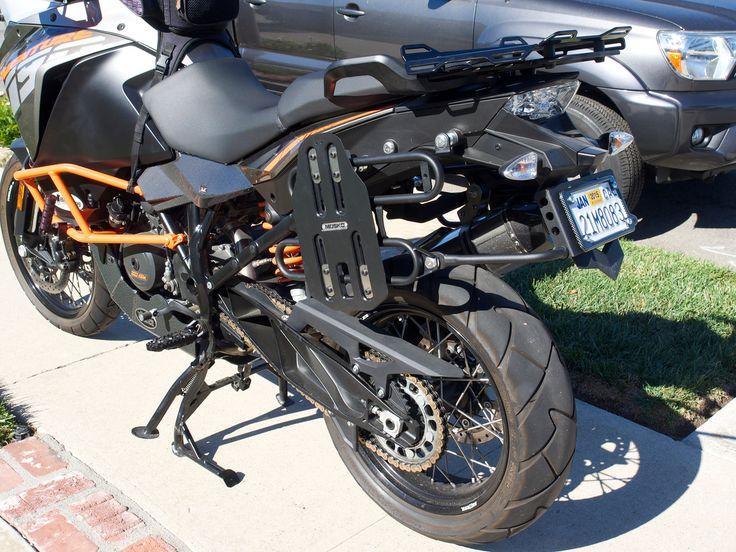 Jesse Racks with Mosko Moto plates Ktm adventure