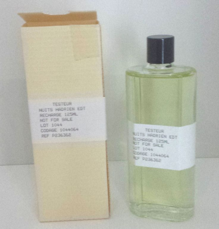 Eau d Hdrien by Annick Goutal EDT 125 ML - in Refill Bottle and Tester Box