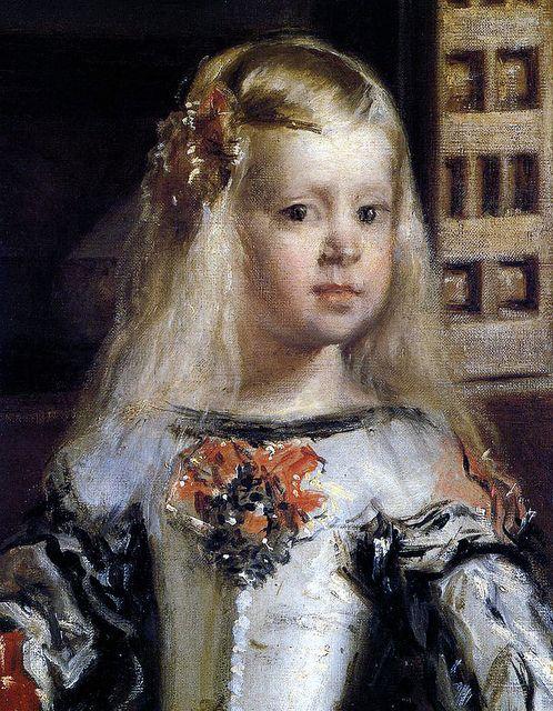 [ V ] Diego Velázquez - Infanta Margarita (Detail from Las Meninas) by Cea., via Flickr