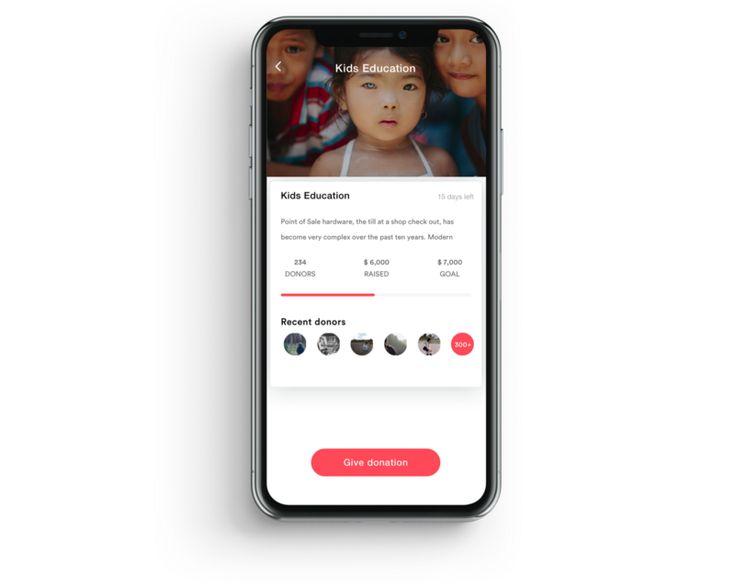 UI/UX Case Study: Charity App — Payment flow – Muzli -Design Inspiration