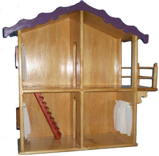 Wooden Dolls House Pattern Kids Doll House Plans