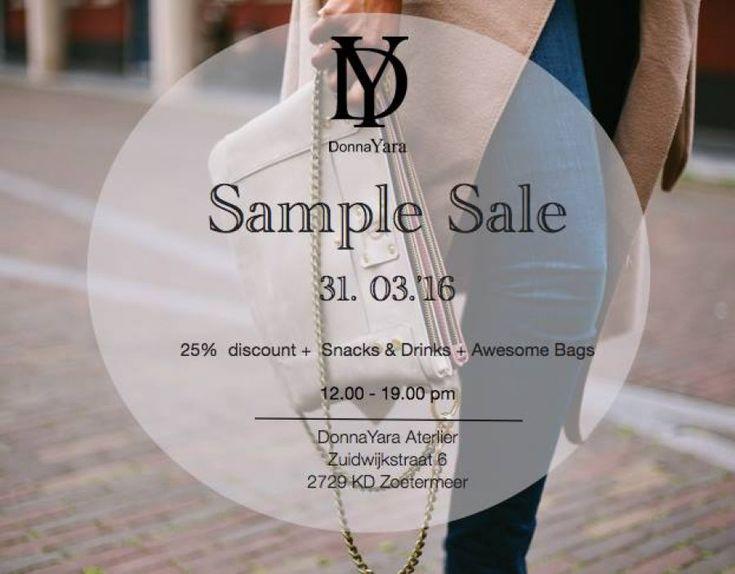 DonnaYara Sample Sale -- Zoetermeer -- 31/03