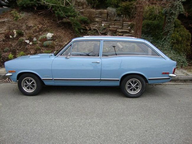 """1970 Vauxhall Viva.  We transported 4 kids around in this.  It was a """"lemon"""" and Doug hated this car."""