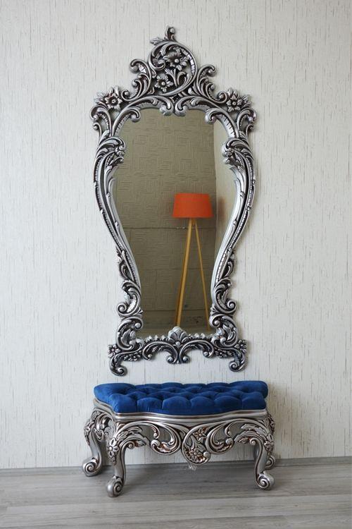Puflu Boy Aynası - Dekorimo Konya