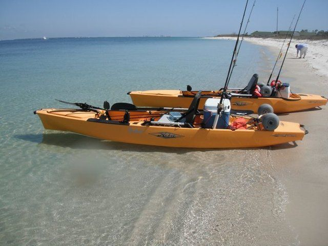 17 best images about hobie kayak fishing ideas on for Fishing canoe setup