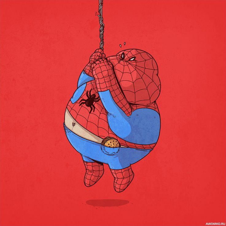 самом человек паук толстый картинки кролик раковые
