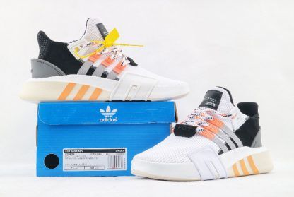 d94cc3a4deb1 adidas EQT Bask ADV Ftwr White Grey Two-Easy Orange For Men in 2019 ...