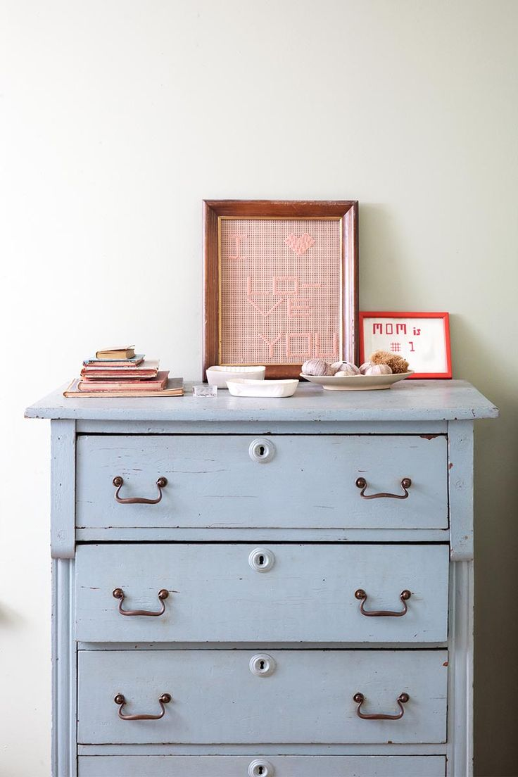 Blue Bedroom Furniture: A Kingston Home For A Creative Couple