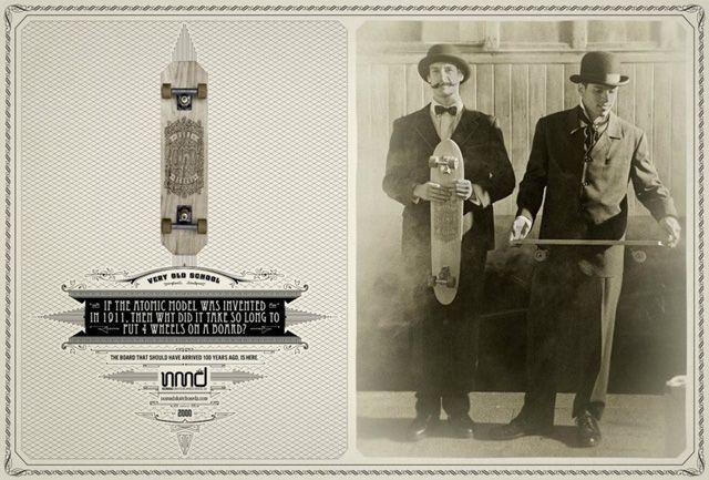 """""""Very Old School"""" – Skateboarden im Jahre 1900 (Board   Video) on http://www.drlima.net"""