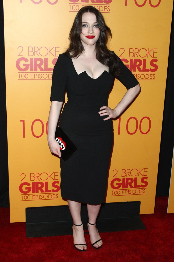 Kat Dennings attends the 100th episode celebration of CBS' '2 Broke Girls' at Mrs. Fish on October 3, 2015 in Los Angeles, California.