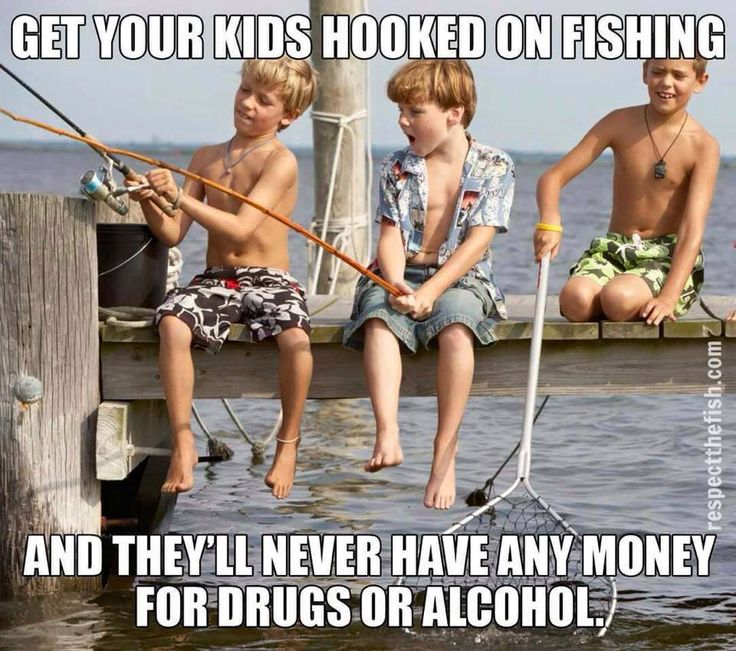 such memories of taking the boys fishing! now we fish in the backyard!!
