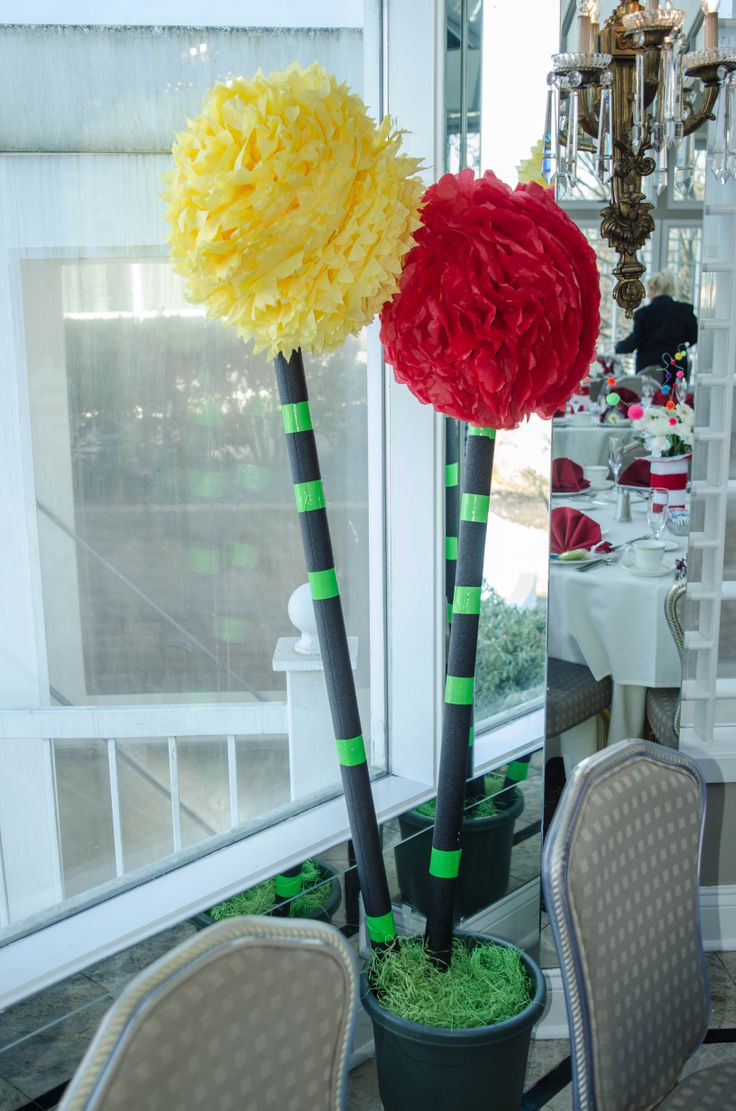 Truffle Trees | Dr. Seuss Baby Shower | Home appliances ...