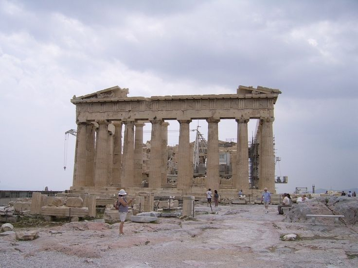 Heat Wave in Greece Affects Operating Hours of Archaeological Sites.