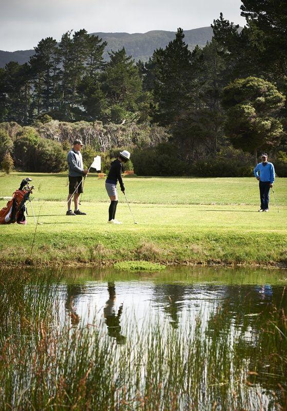 Kaitoke Dunes Links Golf Course, Great Barrier Island, Hauraki Gulf, New Zealand