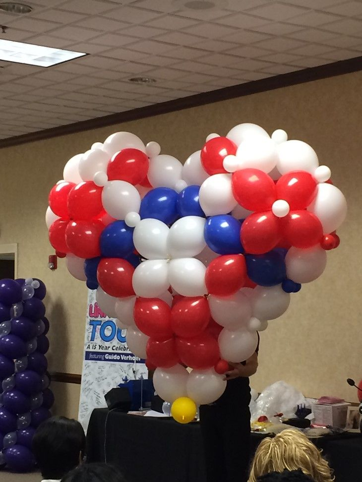 54 best balloon d cor classes events images on pinterest for Balloon decoration course