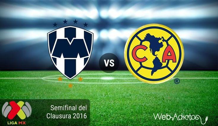 Monterrey vs América, Semifinal Clausura 2016 ¡En vivo por internet! | Vuelta - https://webadictos.com/2016/05/21/monterrey-vs-america-semifinal-2016/?utm_source=PN&utm_medium=Pinterest&utm_campaign=PN%2Bposts