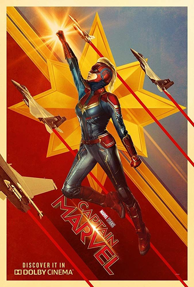 Captain Marvel 2019 Marvel Movie Posters Captain Marvel Marvel Posters