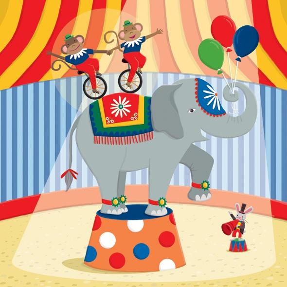 Картинки о цирке для школьников, цветами