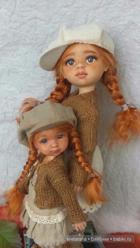 Тася и Ася.ООАК куколки Паола Рейна. / Авторские куклы (ООАК) / Шопик. Продать купить куклу / Бэйбики. Куклы фото. Одежда для кукол