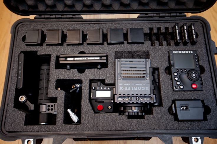 Here's a picture of the 1510 case with the Red Digital Cinema equipment in the case!  Awesome!