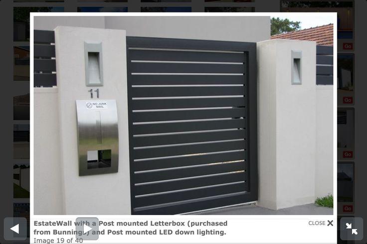 Modular walls - fence ideas