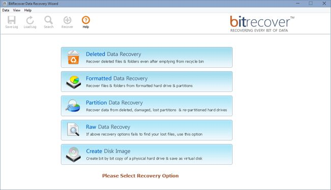 All-in-One Data Recovery Software BitRecover Data Recovery Wizard is a easy to use do-it-yourself read-only data recovery tool