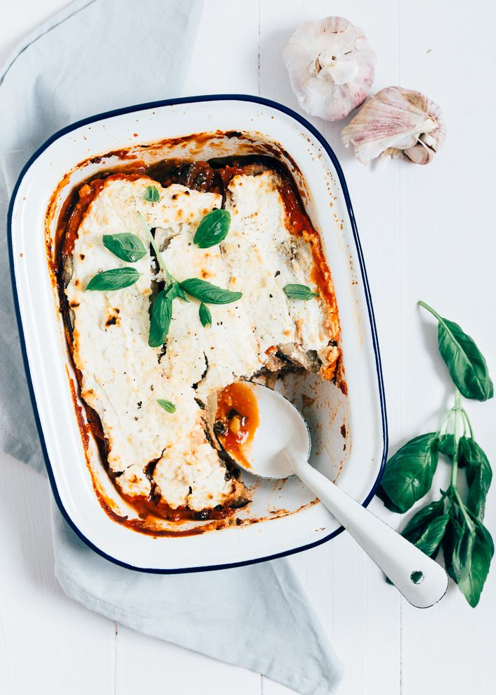 Aubergine lasagne - UitPaulinesKeuken