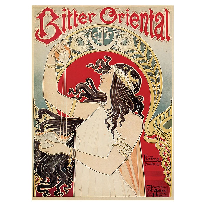 art nouveau poster Privat Livemont: French Posters, Posters Private, Art Nouveau Posters