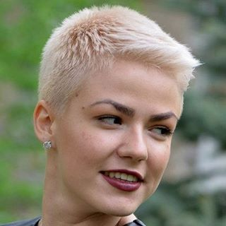 Very Short Hairstyles For Women Brilliant 384 Best Very Short Hair Images On Pinterest  Hair Cut Short