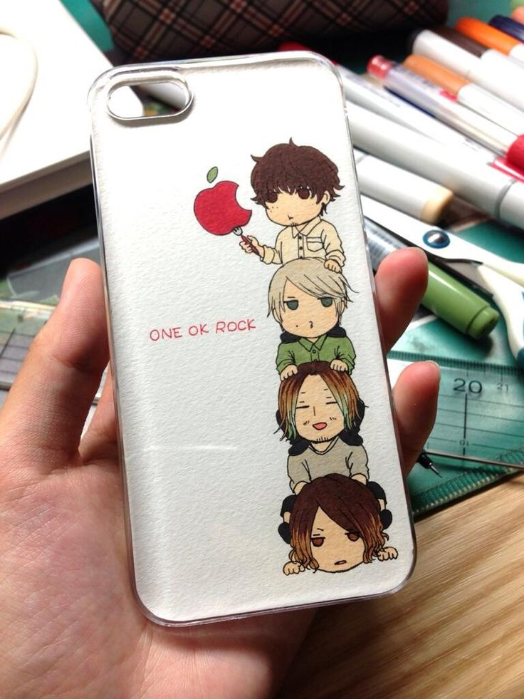 One Ok Rock iPhone case ~ I want this! But then I would need to get an iPhone to go with it..