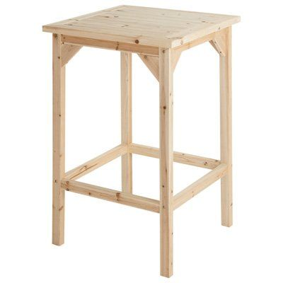 tall cedarfir bar table model sscsnbt68 northern tool