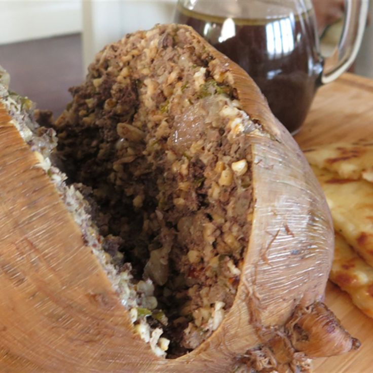 Try this Haggis recipe by Chef Paul West . This recipe is from the show River Cottage Australia.
