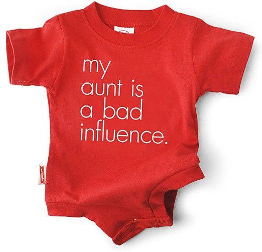My Aunt Funny Unisex Baby Onesie