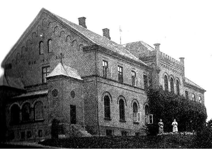 Nedergård gods på Langeland, 7 km nord for Tranekær. 1906