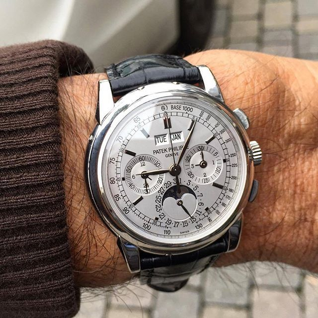 Indeed The Best, Chronograph Grand Complication Patek Philippe Perpetual Calendar Moonphase & Chronograph Ref.#5970 Via @valter_piva