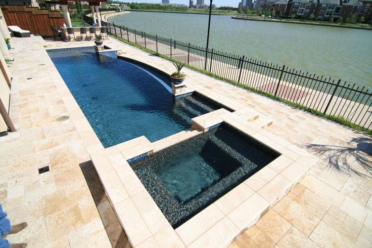 16 best images about custom inground pool designs on for Design pool klein