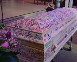 Image result for decorated coffin