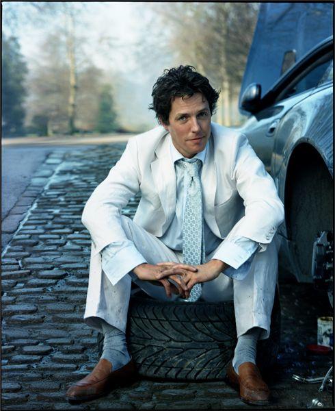 Hugh Grant by Annie Leibovitz, May 2003