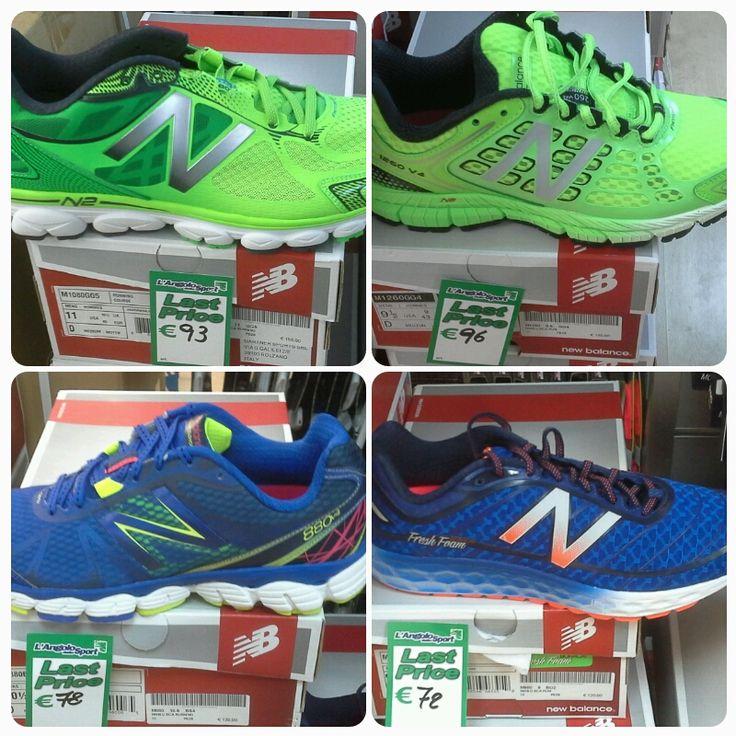 Ultimi pezzi a prezzi pazzi... non è uno scioglilingua, acquista scarpe #running #NewBalance a prezzi irripetibili!